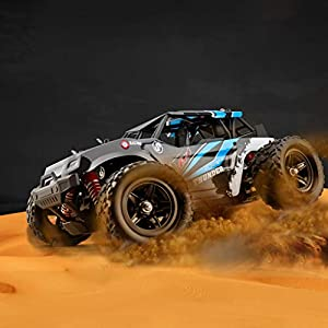 BHYDRY RC Car Four-wheel Drive Cross-country Snow Mountain Climbing Off-Road High-speed 50KM/H 1/18 Scale RC Car 2.4G…