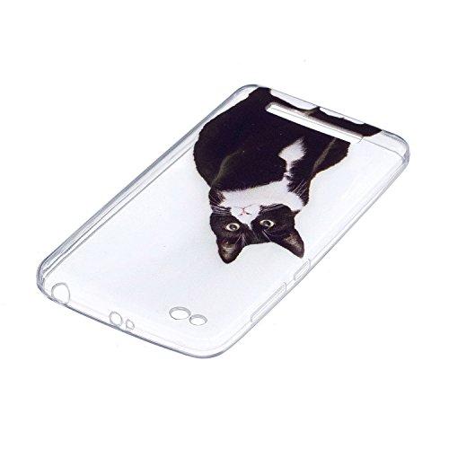 Funda para Xiaomi Redmi 4A , IJIA Transparente Azul Plumas Campanas De Viento TPU Silicona Suave Cover Tapa Caso Parachoques Carcasa Cubierta para Xiaomi Redmi 4A (5.0) HX40