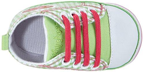 Playshoes Baby Turnschuhe, Sneaker Herzchen Love - Zapatos para bebes Bebé-Niñas Verde (Verde 29)