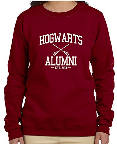 Gildan Hogwarts Alumni Sweatshirt (XLarge, Garnet)