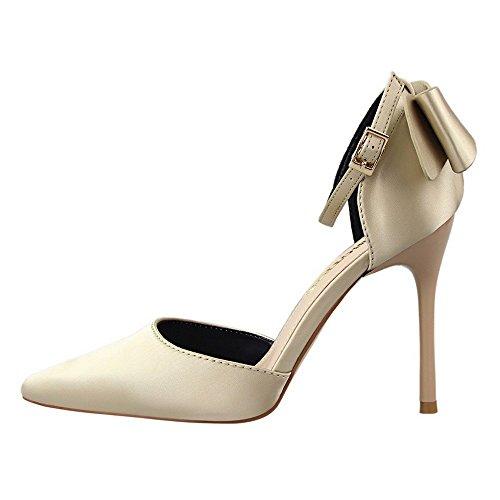 zapatos toe se zapatos Chanclas heelsWomen bajos oras LI peep sandalias BAJIAN Alto verano sandalias Y6FaHqq0