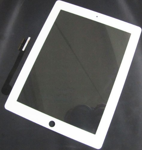 Generic Brand New For iPad 3 Digitizer Touch Screen Glass White Part by Generic