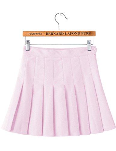 (Imagine Girl's Short Pleated School Dresses for Teen Girls Tennis Scooters Skirts Skate Skirts PI-L)