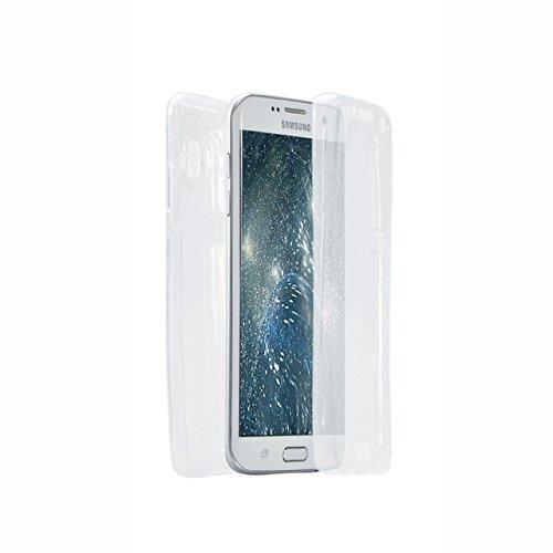 Funda Doble para Samsung Galaxy J5 2016, Vandot Bling Brillo Carcasa Protectora 360 Grados Full Body | TPU en Transparente Ultra Slim Case Cover | Protección Completa Delantera y Trasera Cocha Smartph Bling Clear