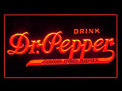 Dr Pepper Drink Bar Led Light Sign