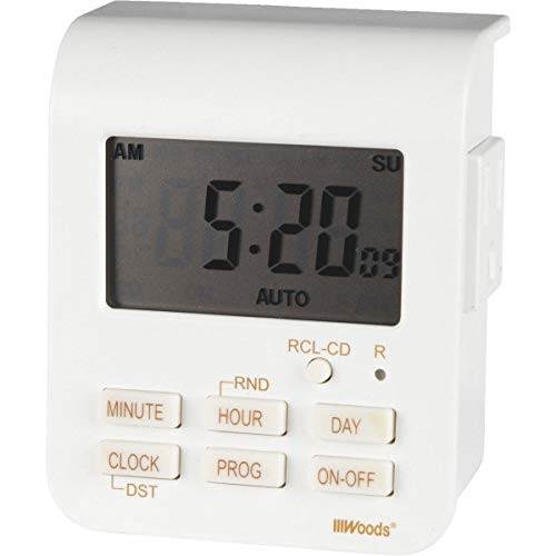 Price comparison product image Woods Indoor Digital Heavy-Duty Timer - 50009WD- Pack of 2