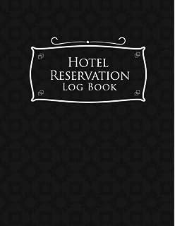 hotel reservation log book booking calendar book hotel