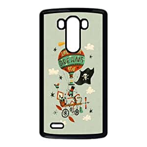 LG G3 Cell Phone Case Black Let Your Dreams Fly SLI_712983
