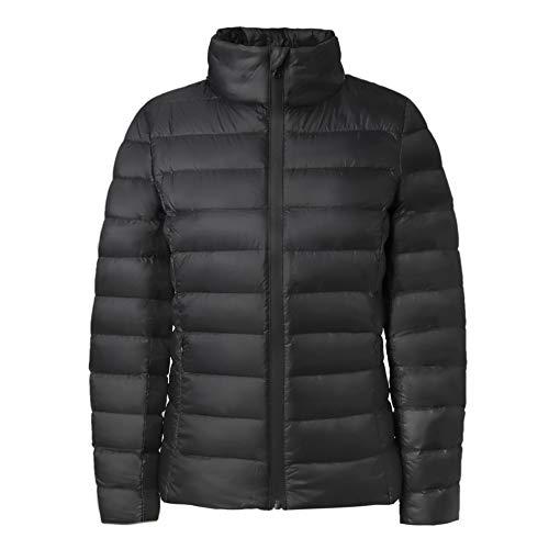 MONICA REA Women's Packable Water Resistant 650 Fill Lightweight Down Jacket
