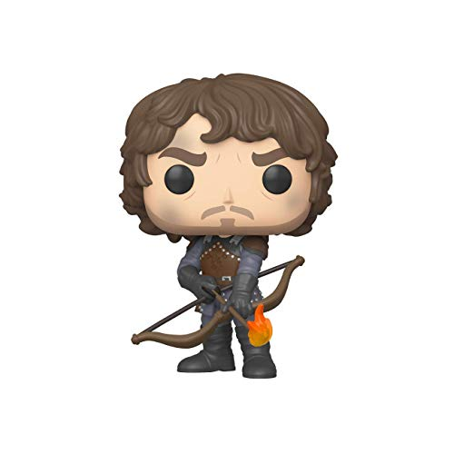 Funko Pop! TV Game of Thrones - Theon w/Flaming Arrows, Multicolor, Talla Unica