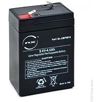 NX - Batería plomo AGM S 6V-4.5Ah 6V