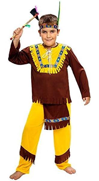WIDMANN Disfraz de indio para niño - de 2 a 3 años: Amazon.es ...
