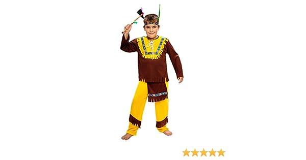 Boys Toys - Disfraz de indio para niño: Amazon.es: Juguetes y juegos
