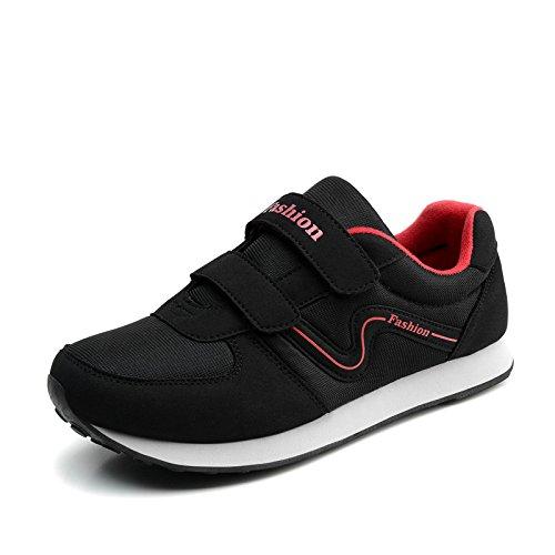 Madre la Viaje A3 Sra Zapatos Antideslizantes black de Zapatos de Primavera y Hasag Zapatos Zapatos Casuales Fondo Otoño Suave de Deportivos 4qxPC