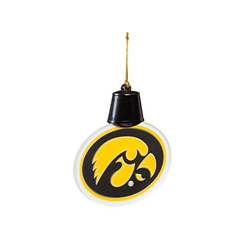 Team Sports America University of Iowa Radiant Lit Acrylic Team Icon Ornament