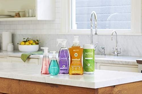 Method All Purpose Cleaner Refill, Pink Grapefruit, 68 Fl Oz (Pack of 6)