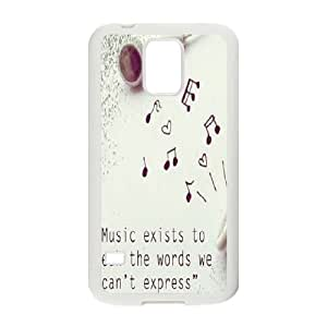 Samsung Galaxy S5 I9600 Cases Cell phone Case Lysil Indescribable music Plastic Durable Cover