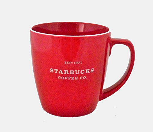 Buy red starbucks mug abbey