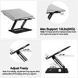 Urmust Adjustable Laptop Stand for Desk Aluminum