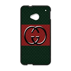 DIY Printed GUCCI hard plastic case skin cover For HTC One M7 SNQ172278