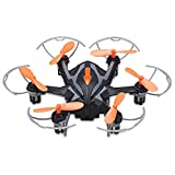 Yi Zhan i Drone i6s RC Quadcopter Drone with 2.0MP HD Camera 2.4G 6 Axis Gyro 3D Rollover One Key Return Hexacopter, Children's Day Gift, Black