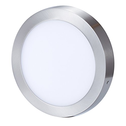 led surface mount ceiling lights sloped ceiling kingmake led surface mount ceiling light antique brushed nickel stainless steel finish 6