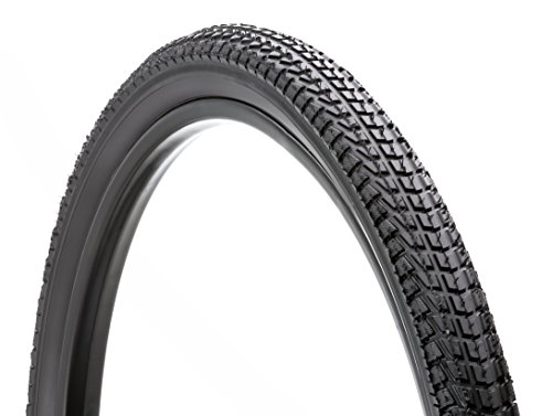 Schwinn Street Comfort Bike Tire with Kevlar (Black, 26 x 1.95-Inch) - Knob By Folding Black Tire