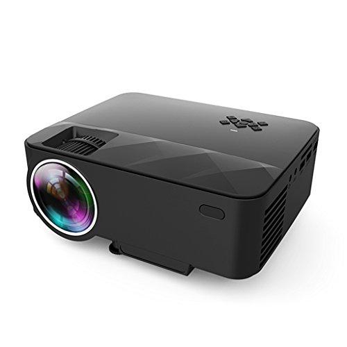 XU.YAN Mini Portable Projector Home Theater Office HD LCD LED TV Projector