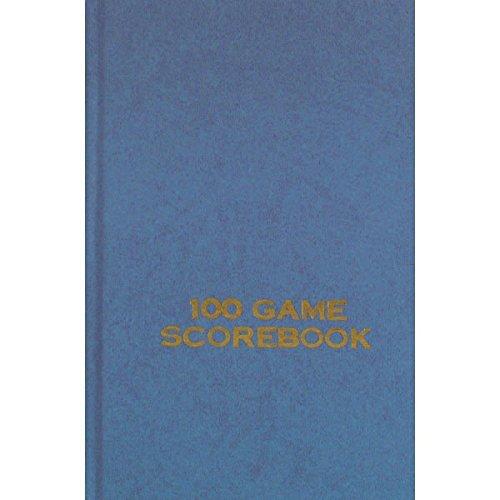 Hard Cover Chess Scorebook - Dark Blue