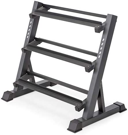 Marcy Compact Dumbbell Rack Free Weight Stand for Home Gym Sport Workout New