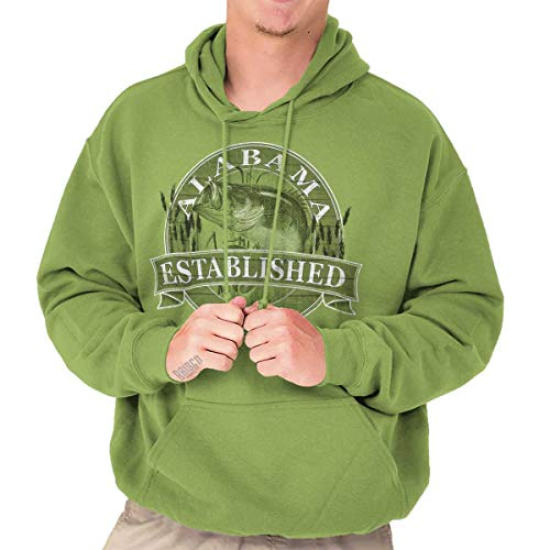 Alabama State The Yellowhammer State Bass Fishing Gift Ideas Fleece ()
