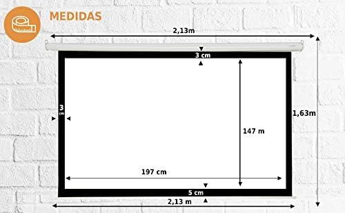 Pantalla de proyeccion Manual Luxscreen 100