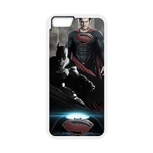 iPhone 6 Plus 5.5 Inch Cell Phone Case White Batman V Superman Phone cover J9727414