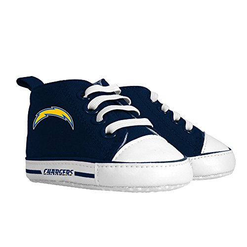 San Diego Chargers Bedding - Baby Fanatic Pre-Walker Hightop, San Diego Chargers
