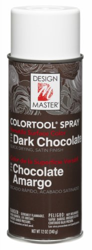 Design Master 719 Dark Chocolate Colortool (Chocolate Spray)