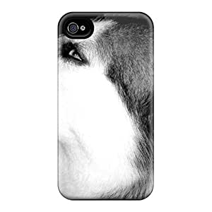 GLAccxc1569vzBFo Anti-scratch Case Cover AnnetteL Protective Husky Close Up Case For Iphone 4/4s