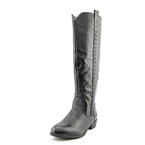 MIA MIA Womens Crossings Boot High Knee Synthetic Black Womens dq7F5x7g