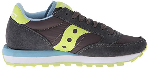 mujer Charcoal Original para Saucony Green Jazz Women Zapatillas Light YxzXq