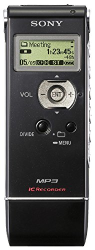 Sony ICD-UX71 Digital Voice Recorder with 1GB Flash Memory