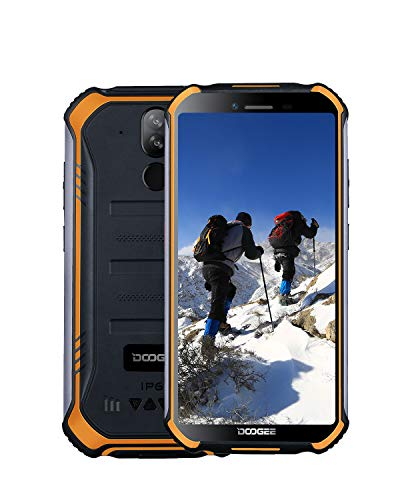 DOOGEE S40 Lite 3G Rugged Smartphone Android 9.0, Dual SIM Free Mobile Phones 2GB + 16GB 5.5 inch IP68 Waterproof Cell…
