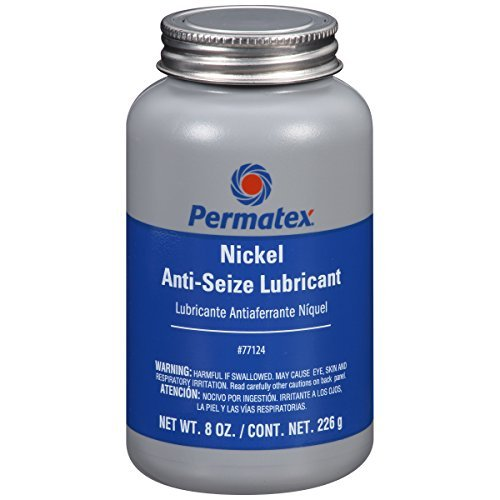 Permatex 77124 Nickel Anti-Seize Lubricant, 8 oz. by Permatex