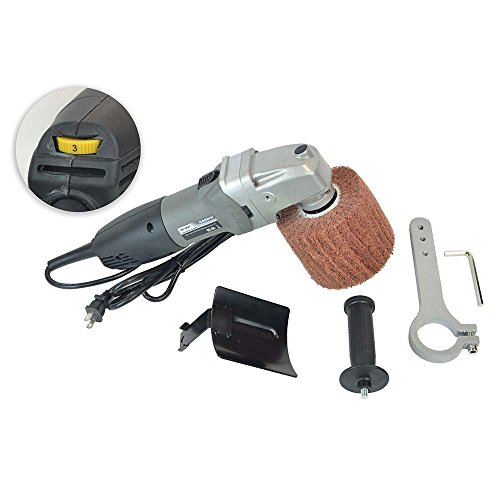 Hardin HB-5800 Hand Held Angle Burnished Stainless Steel Polisher by Hardin (Image #2)