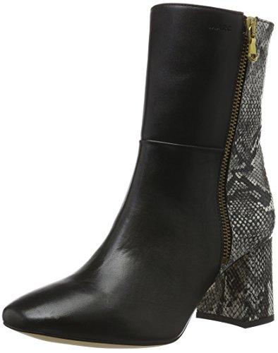 Marc Shoes Damen Helena Kurzschaft Stiefel Schwarz (Black Comb. 00104)