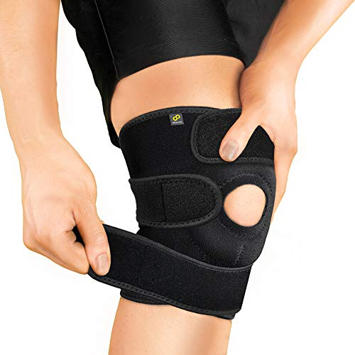 Bracoo Breathable Neoprene Knee Support, One Size, Black,Manufactured by: Yasco Price & Reviews
