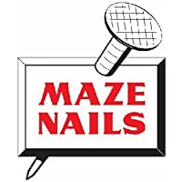 MAZE NAILS H527A-5 Pole Barn Ring Shank Nails, 5-Pound 30D 4.5-Inch by Maze Nails