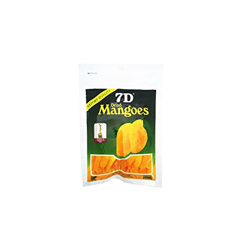 New Export Quality Dry fruit, Delicious 7D Dried Mangoes snack x 15pcs by 7D (Image #3)