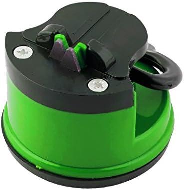 ナイフシャープナー グラインダー 刈り取り機 研磨 キッチン用 - 緑