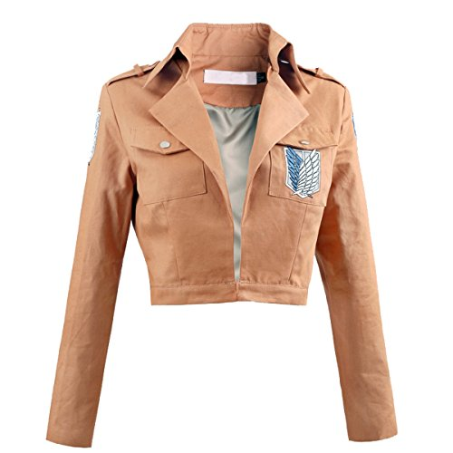 Angelaicos Unisex Long Sleeve Khaki Jackets (M)