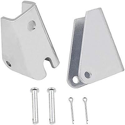 4 pieces Heavy Duty Linear Actuator Mount Bracket Hardware Stainless Steel