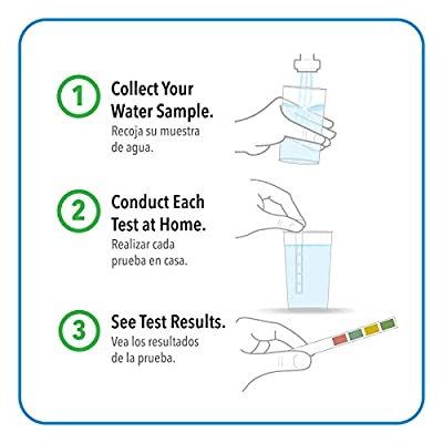 Safe Home STARTER-15 Water Quality Test Kit - (DIY Testing for 15 Different Contaminants: Bacteria, Nitrates, Hex-Chrome, TDS, Zinc, Chlorine, Copper, pH, Iron, Sulfate, Chloride & More): Home Improvement